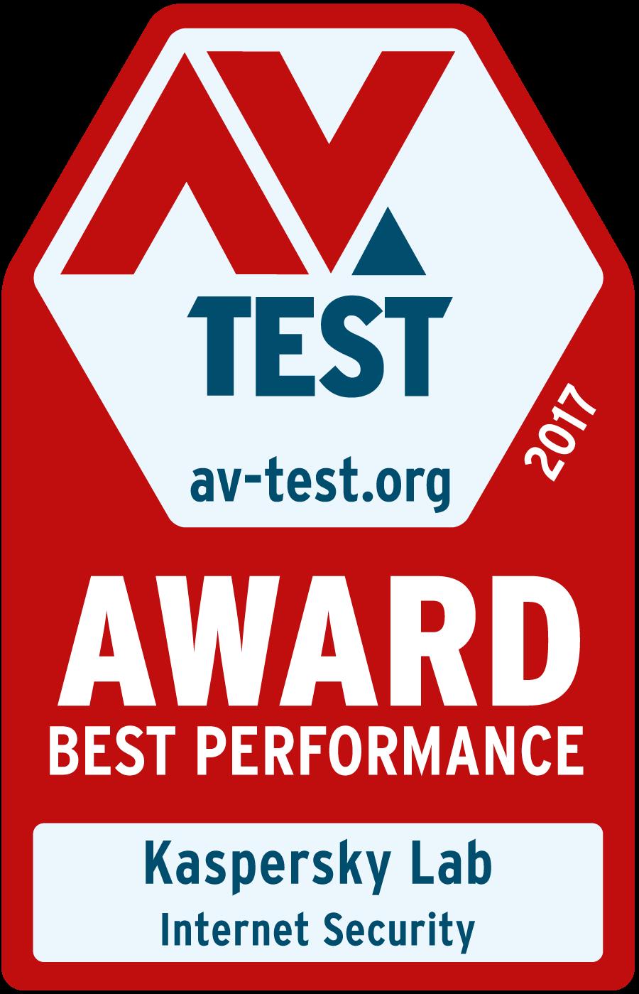 AV-Test Award: Best Performance
