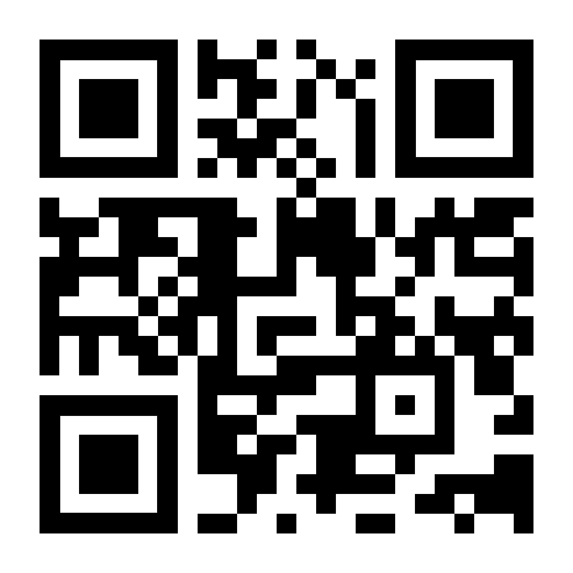 A QR code linking to kaspersky.com