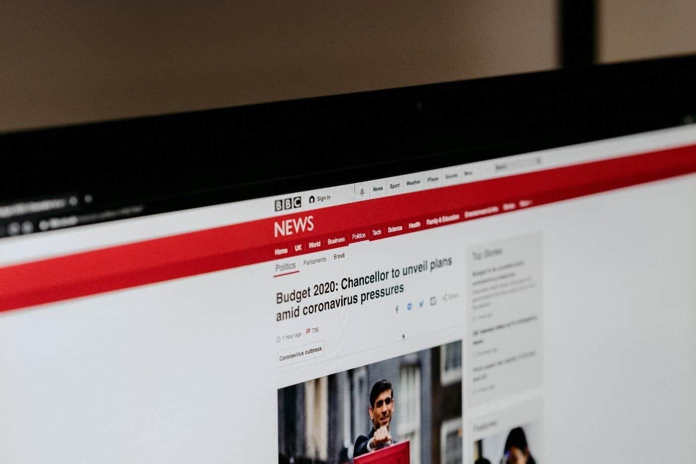 The Coronavirus is affecting many online websites