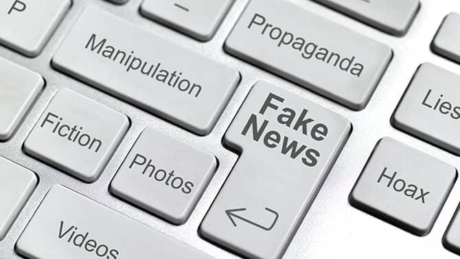 Fake news examples