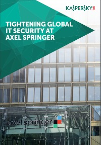TIGHTENING GLOBAL IT SECURITY AT AXEL SPRINGER