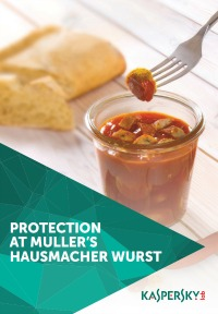 ENDPOINT AND DDOS PROTECTION AT MÜLLER'S HAUSMACHER WURST